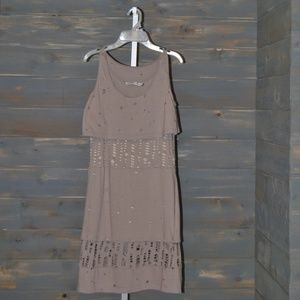 See by Chloe Distressed Dress, Size 8